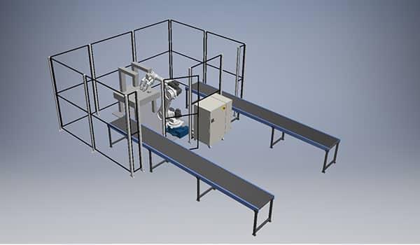 Fremstilling samt montering af komplet robotcelle for Royal Unibrew